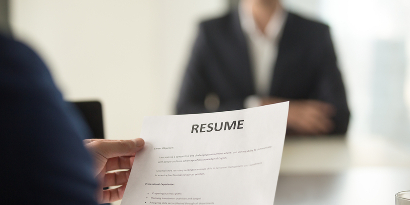 What scientific hiring managers are looking for on a résumé