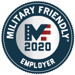 Kelly Receives Military Friendly Employer Award 2019