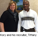 Kory Green and Recruiter